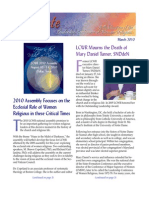 March 2010 Leadership Conference of Women Religious Newsletter