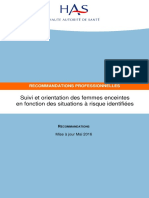 Suivi Des Femmes Enceintes - Recommandations 23-04-2008