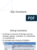 3. Functions in SQL
