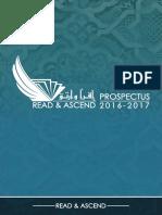 Read & Ascend 2016/2017 Prospectus