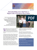 April 2009 Leadership Conference of Women Religious Newsletter