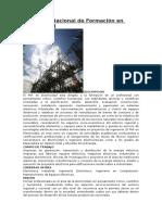 Programa Nacional de Formación en Electricidad