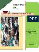 Industria de Harina y Aceite de Pescado....