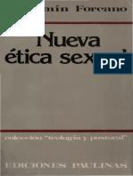 Nueva Ética Sexual. Forcano, Benjamin