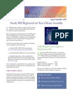 August-September 2009 Leadership Conference of Women Religious Newsletter