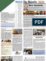 Legislator Touchette Newsletter