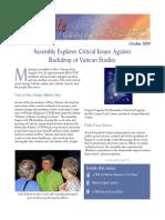 October 2009 Leadership Conference of Women Religious Newsletter