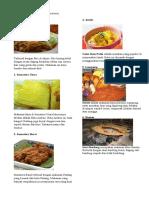 Tentang Makanan Khas Setiap Provinsi