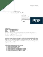Surat Permohonan Perpanjangan PTT