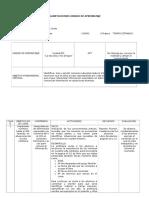 Planificacion Matematicas