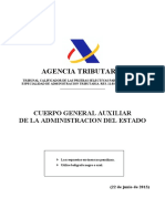 OEP2013 Especialidad AEAT Aux Admin
