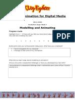 animation production evaluation form week 3