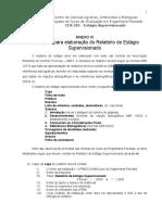 Anexo VI - Instrucoes Relatorio de Estagio Supervisionado - Florestal