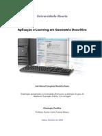 Aplicação do e-Learning em Geomteria Descritiva
