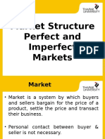 Market Structure Perfect and Imperfect Markets