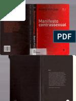 Manifesto Contrassexual (PRECIADO)