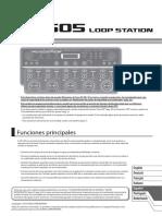 Loop Station RC-505 Boss (Manual de usuario)