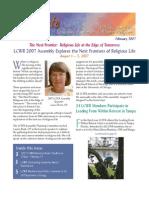 February 2007 Leadership Conference of Women Religious Newsletter
