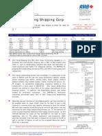 Shin Yang Shipping Corp Berhad