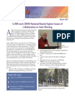 March 2007 Leadership Conference of Women Religious Newsletter
