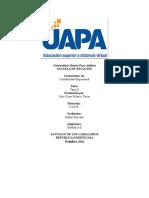 Práctica Unidad II Plataforma Estadistica II