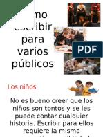 C_MO ESCRIBIR HISTORIAS PARA VARIOS P_BLICOS (PRESENTACI_N) (2).pptx