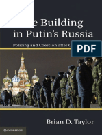 [Brian D. Taylor] State Building in Putin's Russia