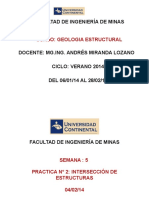 Geologia Estructural SEMANA 6