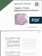 Analisis tecnico administracion de carteras