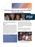 October 2006 Leadership Conference of Women Religious Newsletter