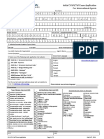CWI Application Form