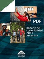Reporte Antamina 2011