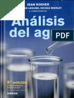 Analisis del Agua - Jean Podier.pdf