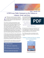 August-September 2006 Leadership Conference of Women Religious Newsletter
