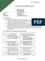 Contoh RPP Teks Cerpen SMP Kelas VII