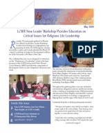 May 2006 Leadership Conference of Women Religious Newsletter