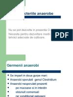 Diagnostic in Inf. Cu Anaerobi