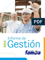Informe Gestion Grupo Familia 2014