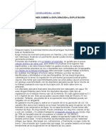 Algunas Observaciones Sobre La Exploración y Explotación de Aluviones