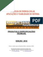 Cartilha Solar 2016