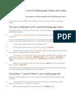 Tutorial Multi Language Yootheme Framework 7