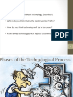 Phases of Technological Process