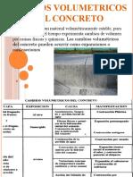 Cambios Volumetricos Del Concreto Diapos
