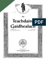 ''An teachdaire gaidhealach'' (Comunn Gàidhlig Astràilia, an Dùbhlachd 2007)