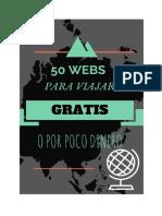 50 Webs Para Viajar Por El Mundo Con Muy Poco Dinero o GRATIS 1