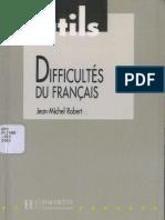 Outils - Difficultes Du Francais