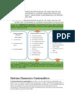 Sistema Financiero Regulado