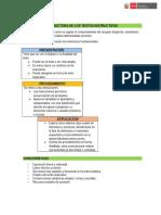 Estructura Texto Instructivo Taller 17
