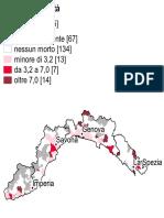 """Incidenti in Liguria, ecco le zone più """"pericolose"""""""