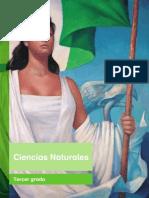 Primaria Tercer Grado Ciencias Naturales Libro de Texto